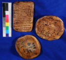 Representations of early clay tablets