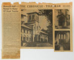 Articles from the Elyria Chronicle-Telegram about Oberlin College, its activities and buildings,...