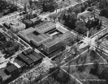 Aerial view of Oberlin College campus, 1965