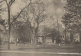Warner Hall, Memorial Arch, and Peters Hall, 1918