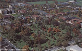 Postcard aerial view of Oberlin College campus, 1976