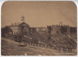 Oberlin College Chapel and Tappan Hall, ca. 1860