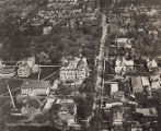 Aerial view of Oberlin College campus, 1922