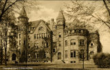 Warner Hall facade, ca. 1910s