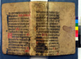 Fragment with printed book: Euclid's Elements