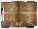 Fragment with printed book: Index librorum prohibitorum, 1569