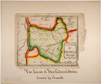 Mounted map by John Frederick Oberlin presented to Oberlin College president James H. Fairchild in...