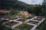 Experimental gardens at the Oberlin Museum in Waldersbach, 2004