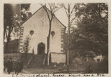 Photograph of the church at Fouday, Alsace, France, 1926