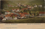 Picture postcard with a view of Waldersbach, Ban de la Roche, France