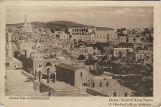 Postcard of a general view of Bethlehem, ca. 1919