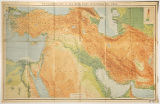 Map of Asia Minor, Egypt, Mesopotamia, and Persia