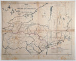 Map shewing the rail roads between Lake Erie, New York and Boston intended to illustrate the...