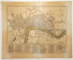 New and Accurate Plan of London, Westminster and the Borough of Southwark, with all the additional...