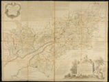 An Accurate Map of the Counties of Gloucester and Monmouth Divided into their Respective Hundreds:...