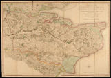A map of the County of Kent Drawn from the Topographical Survey Taken, by the Order of the...