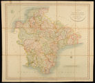 A New Map of Devonshire, Divided into Hundreds.  Exhibiting its Roads, Rivers, Parks &c.