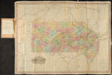 A Map of the Canals & Rail Roads of Pennsylvania and New Jersey and the Adjoining States