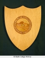 Tappan Hall wood plaque