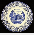 Oberlin College commemorative plate for sesquicentennial celebration