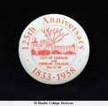 Oberlin 125th Anniversary button