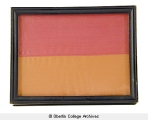 Oberlin colors, framed