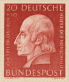 German postage stamp honoring John Frederick Oberlin