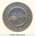Oberlin College Seal plaque