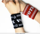 """Vote"" wristbands"