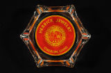 Herrick Jewelry ashtray with Oberlin College seal