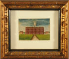 Oil painting of Tappan Hall