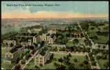 Postcard of Bird's Eye View of...