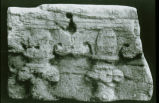 "Relief from Ramat Rahel: Ionic altar and """"lilly wake"""""