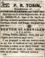 "ADVERTISEMENT IN THE ""LORAIN COUNTY NEWS"" IN THE 1860S"