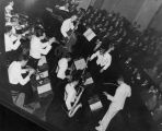 SWING BAND AT OBERLIN COLLEGE IN THE 1940S