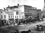 WEST COLLEGE STREET IN OBERLIN, OHIO IN 1876