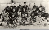 OBERLIN COLLEGE 1893 VARSITY FOOTBALL TEAM