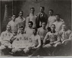OBERLIN COLLEGE 1890 VARSITY FOOTBALL TEAM