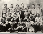 OBERLIN COLLEGE 1891 VARSITY FOOTBALL TEAM