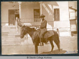 Dr. Mark H. Ward on horseback